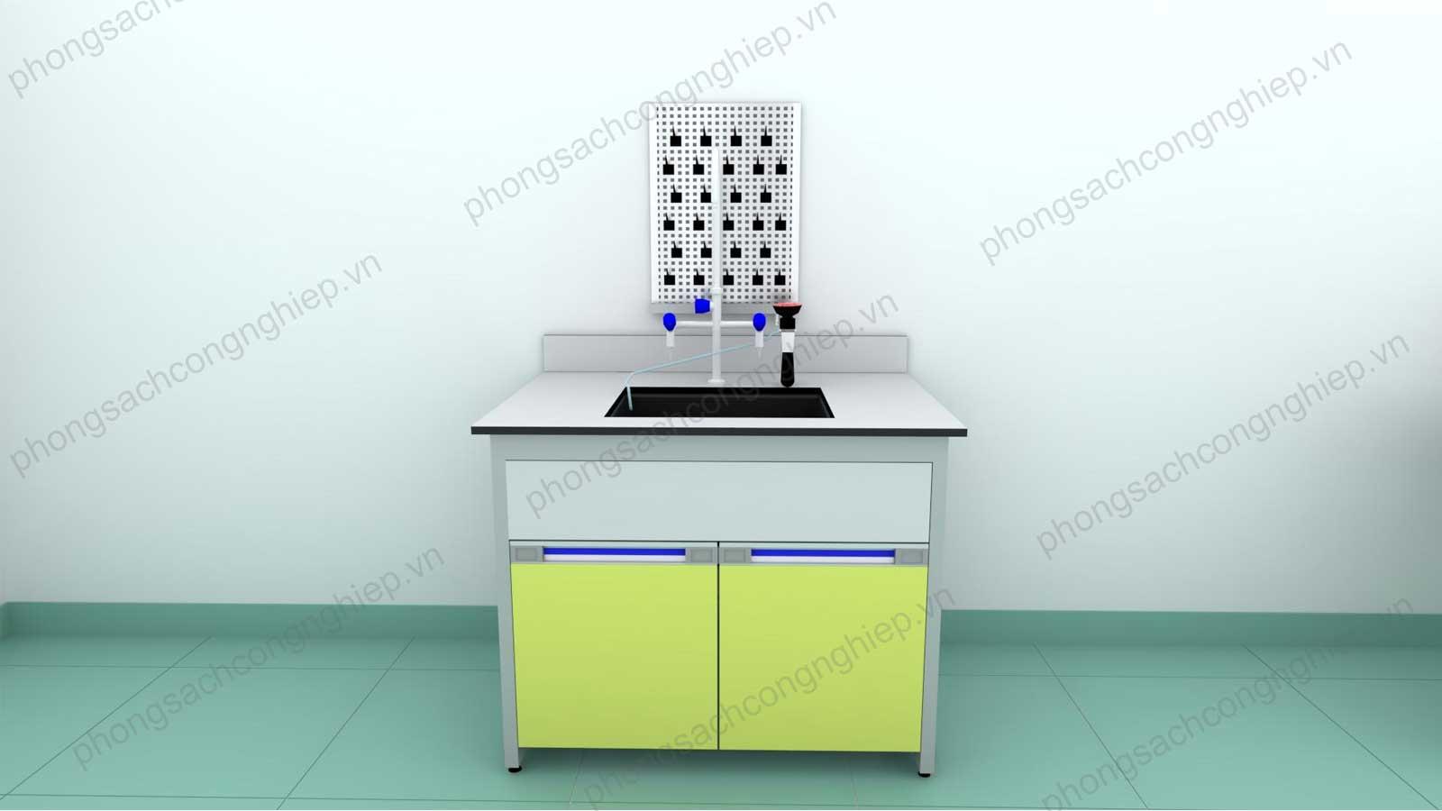 bàn chậu rửa phòng thí nghiệm mẫu 3