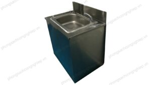 bồn rửa inox 1 hộc model HPTL SI1B