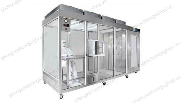 bản vẽ clean booth HPTL–CB