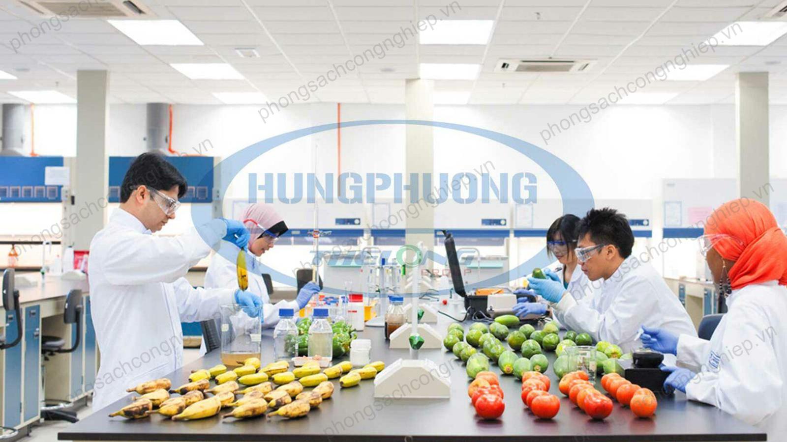 Tư vấn, thiết kế, thi công phòng sạch ngành thực phẩm