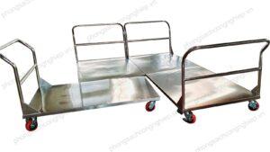 xe đẩy inox 1 tầng mẫu HPTL–TR1F